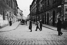 Corner of Krakowska and Józefa. Photo: Historical Museum of Krakow Krakow Poland, World Cities, Planet Earth, Planets, Street View, City, Corner, Krakow, Europe