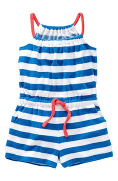 Over swimsuit  Mini Boden Romper (Toddler) available at Nordstrom