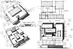 sketchbook - Explore, Collect and Source architecture Architecture Concept Drawings, Architecture Board, Amazing Architecture, Archi Design, Architect Design, Conceptual Sketches, Clinic Design, Healthcare Design, Concept Diagram
