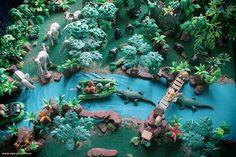 La Jungle Et Le Temple Perdu En Playmobil R 233 Alis 233 Par