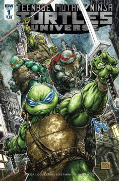 Introducing a new era in TMNT! This series will explore characters and story-lines that are pivotal to the IDW TMNT universe! When a mysterious new mutant targets Baxter Stockman, it will be up to the