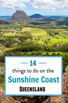 14 things to do on the Sunshine Coast of Queensland, Australia - besides going to the beach! Looking for things to do on the Sunshine Coast that don't involve a beach? Check out this list of 14 things you can do inland away from the coast! Australia Tourism, Coast Australia, Visit Australia, Queensland Australia, Western Australia, Australia Trip, South Australia, Hello Australia, Australia Funny