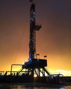 Rise and shine, Rig Thanks, Brent H., for capturing this insane sunrise! Petroleum Engineering, Oilfield Life, Oil Field, Oil And Gas, Rigs, Utility Pole, Sunrise, Club, Awesome
