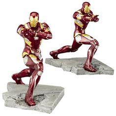 Captain America: Civil War Iron Man Mark 46 ArtFX+ Statue - Kotobukiya - Captain America - Statues at Entertainment Earth