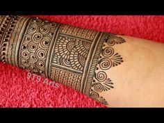 Round Mehndi Design, Mehndi Designs Front Hand, Latest Bridal Mehndi Designs, Stylish Mehndi Designs, Full Hand Mehndi Designs, Mehndi Designs 2018, Mehndi Designs Book, Mehndi Designs For Beginners, Mehndi Design Photos