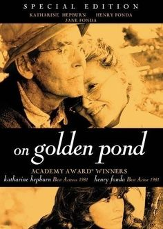 On Golden Pond - starring Katharine Hepburn, Henry Fonda and Jane Fonda. A magnificent acting duet between Henry Fonda and Katharine Hepburn. I named my youngest daughter Chelsea after the character Chelsea played by Jane Fonda. Henry Fonda, Jane Fonda, Old Movies, Great Movies, Awesome Movies, See Movie, Movie Tv, Little Dorrit, Trailer Peliculas