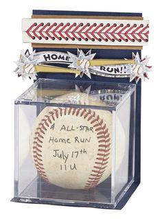 Jolee's Boutique® Baseball Home Run #papercrafting #craft