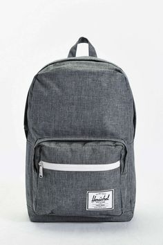 Herschel Supply Co. Pop Quiz Charcoal Cross-Stitch Backpack