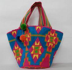 Tapestry Bag, Tapestry Crochet, Crochet Tote, Crochet Handbags, Diy Handbag, Boho Bags, Beach Tote Bags, Cute Bags, Knitted Bags