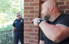 G-Shock GA-100 Wrist Shot - Law Enforcement Officer Threat Training