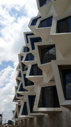 Students housing near Delhi by Sanjay Puri Architects