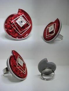 my kind of art; schmuck, design  mehr auf KUSELVER, Ring linea 'nicpresso'