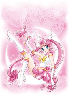 Kousagi, Usagi & Mamoru's 2nd daughter from Parallel Sailor Moon short story.