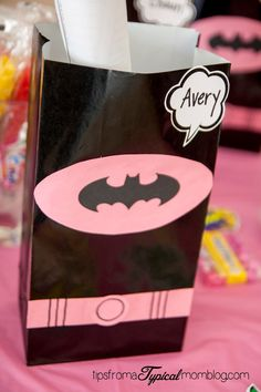 Superhero Girl Birthday Party Ideas and Free Printables