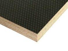Skid-Resistant Plywood: Dark Brown Carat anti-skid plywood :: Winwood Products