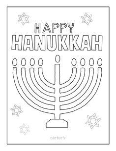 Happy Hanukkah Coloring Page Classroom Happy hanukkah