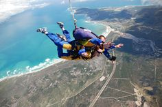 Go #Skydiving in #Mysore- Beat the most obvious fear of oblivion that haunts most #mortals by taking control of your life and feeling the rush of #jumping off a plane at 5000 ft. #Skydiving is easily the epitome of all adventure #sports, #specially designed for the bold. Ever wondered what it's #relish to liberate fall at the speed of 240 kilometers per hour? The free fall is the highest #natural high a #human can ever procure. #Mysore now offers tandem and static #skydiving.