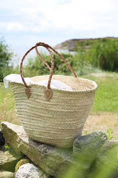 Straw bag from Tine K