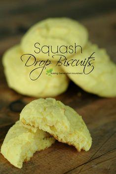 Simple & Quick Blender Squash Drop Biscuits