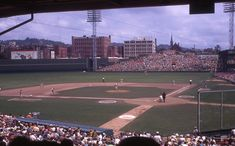 Beautiful photo of Crosley Field, circa 1969 - RedsZone.com - Cincinnati Reds Fans' Home for Baseball Discussion
