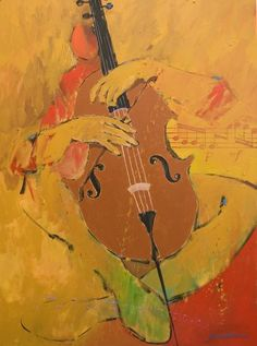 Cellist historical painting | To view larger images above, click them. Click the larger image to ...