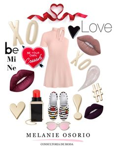 """""""Xoxo"""" by melanieosorio on Polyvore featuring BP., Lime Crime, Circus by Sam Edelman, Yvng Pearl and Kate Spade"""