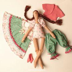 """OYO... или мамские будни дизайнера: """"Яблочная"""" кукла"""