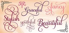 Beautiful Samantha Script Font - only $17! - MightyDeals