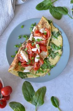 Mozzarella, Avocado Toast, Vegetable Pizza, Vegetables, Breakfast, Fit, Morning Coffee, Veggie Food, Vegetable Recipes