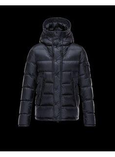 Moncler Basile Jacket Men Dark Blue - Moncler #moncler #jacket #backtoschool