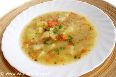 Každý ji dělá po svém, my ji děláme takto ...Sytá, rychlá a vděčná polévka ...