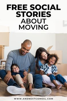 Looking for moving social stories? Then you'll want to check out this collection of free social stories about moving to a new house. These stories are great for kids with autism. #socialstories #socialskills #autism #moving
