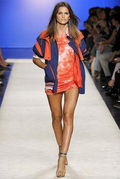 Izabel Goulard walking for Isabelle Marant