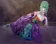 Jokerette's photo shoot - and your chance to vote on her name - Button & Snap Concrete Slab, Joker Cosplay, Princess Style, Refashion, 18th, Scene, Princess Zelda, Photoshoot, Handmade