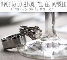 Things To Do Before You Get Married (That Actually Matter) : House of Doig