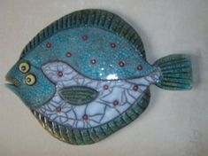 - Julian Smith - Society of Cork Potters Fish Sculpture, Pottery Sculpture, Fish Wall Art, Fish Art, Ceramic Painting, Ceramic Art, African Art Projects, Clay Fish, Hand Built Pottery