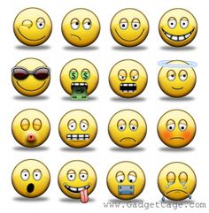 Get More Out of Facebook Chat Emoticons with Extra Smileys | Gadget Cage. http://www.gadgetcage.com/facebook-chat-emoticons-best/15429/