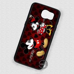 Mr and Mrs Mickey Minnie - Samsung Galaxy S7 S6 S5 Note 7 Cases & Covers