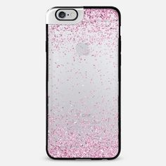 Pink Sparkly Glitter Burst iPhone 6 Plus Metaluxe Case by Organic Saturation | Casetify Get $10 off using code: 53ZPEA