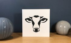Handmade Blank Greeting Card ~ Cow ~ Farming Themed Greeting Card by StickandPasteCards on Etsy Cut Image, Blank Cards, Me On A Map, Paper Cutting, Farming, I Card, Cow, Greeting Cards, Gifts