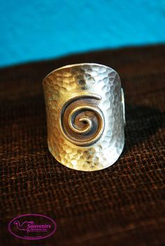 Ring Sterling Silver Helix Symbol by SouvenirsAtChiangMai on Etsy Sterling Silver Rings, Rings For Men, Symbols, Unique Jewelry, Handmade Gifts, Etsy, Kid Craft Gifts, Men Rings, Sterling Silver Thumb Rings