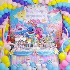 Party Background 3rd Birthday Parties Baby Kids Decorations Themes