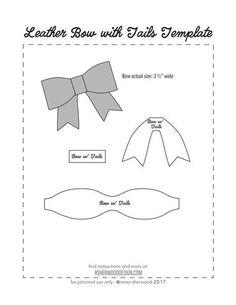 Trendy Diy Baby Headbands No Sew Bow Ideas Diy Baby Headbands, Diy Hair Bows, Diy Bow, Baby Bows, Ribbon Hair, No Sew Bow, Printable Fabric, Bow Template, Templates