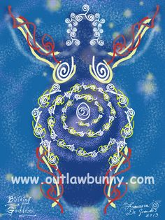 This week's blog: childbirth, honoring your creations, plagiarism, and Ostara. I'd love your thoughts on this, truly. Faerie art. http://www.outlawbunny.com/2014/02/26/birthing-goddess-talisman/