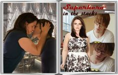 Superhero In The Stacks  By: lellabeth  (Obtained banner from Fic Tease )  'He's beautiful, but he doesn't notice me. Nobody does.' Bella's insecurities have forced her to hide away from the world, but her Library Boy changes everything. For Sophiacorgi.  https://www.fanfiction.net/s/9635457/1/Superhero-In-The-Stacks