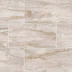 MSI Bernini Pietra Bianco Mosaic Polished x Porcelain Tile in White Small Bathroom Vanities, Chic Bathrooms, Master Bathroom, Hall Bathroom, Mosaic Wall, Mosaic Glass, Mosaic Tiles, Country Style Bathrooms, Chandelier Art