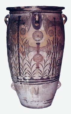 Nome o titolo: Pithos Autore o attribuzione:sconosciuto Data e periodo: 1700-1400 a.c, II millennio Luogo di conservazione: Hiràklion, Museo Archeologico