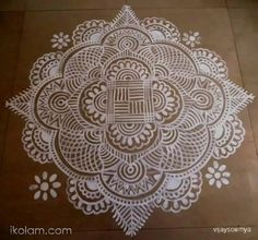Dear friends...Iniya Thamizh Puthaandu Nalvaazhthukkal...Happy Tamil New year...Wishing you all a prosperous year ahead.  A maakolam for the occasion.