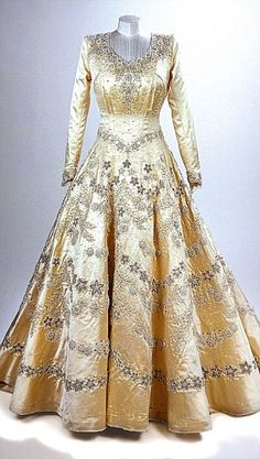 Norman Hartnell, for Princess Elizabeth, Wedding Dress, 1947