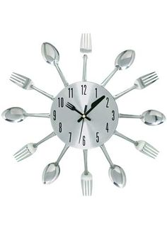 Whimsical Kitchen Wall Clock | Decorative Accents | CarolWrightGifts.com